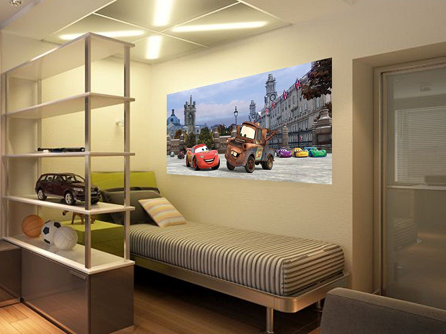 Image Of London Themed Wall Murals GIANT WALLPAPER WALL MURAL LONDON ...